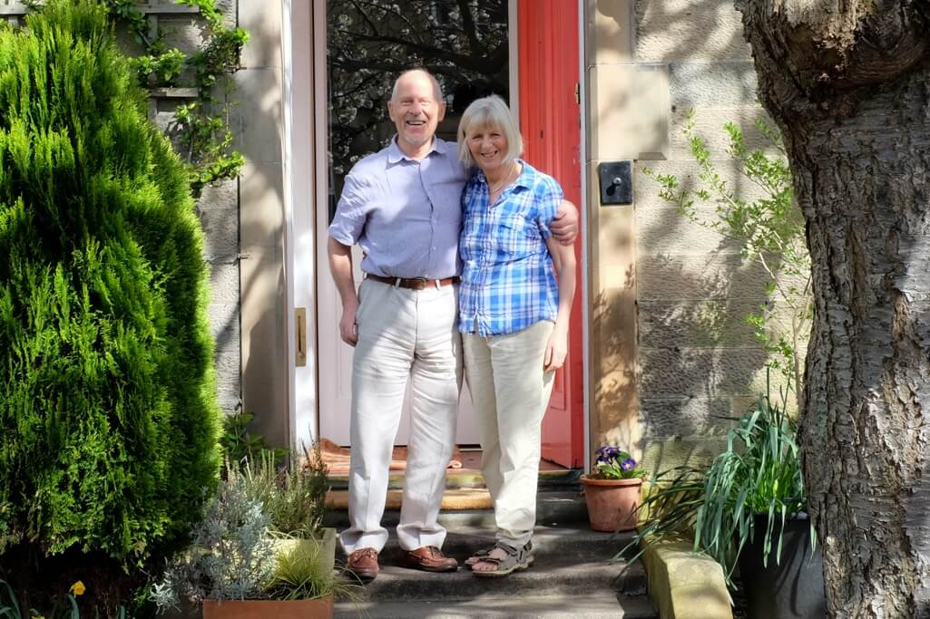 Ann & Mike Walsh, Tantallon Place Edinburgh Four Star Bed & Breakfast